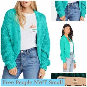 NWT Free People Cardigan - Small